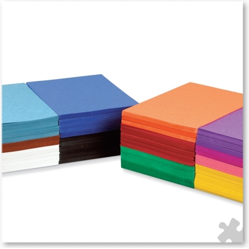 Construction Paper A4+ School Stack Pack