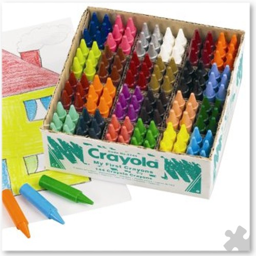 My First Crayon by Crayola, 144 Classpack
