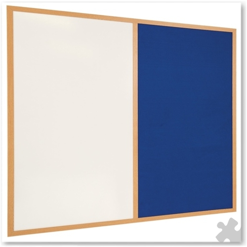 120 x 180cm Eco-Friendly Dual Noticeboard
