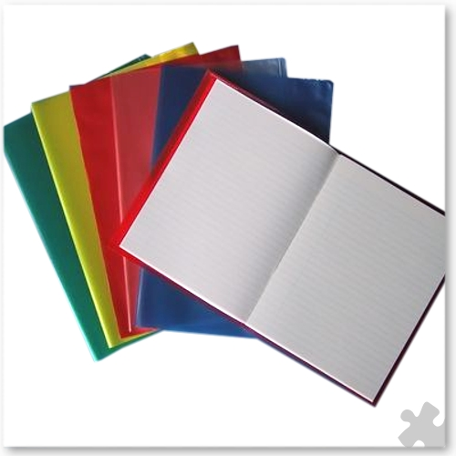 "9""x7"" Exercise Book Covers, 50 Assorted Colours"