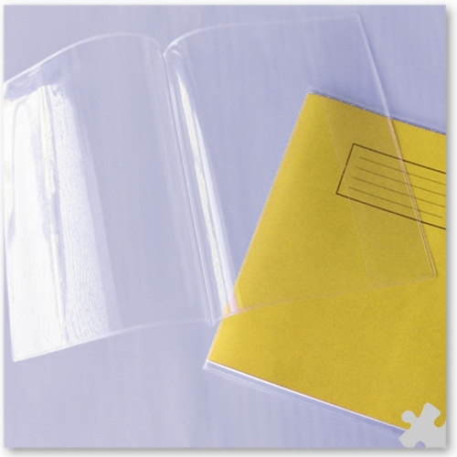 A4 Exercise Book Covers, 25 Clear