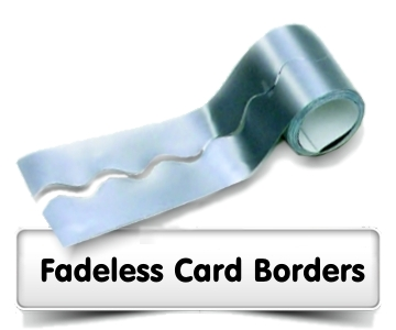 Fadeless Card Border Rolls