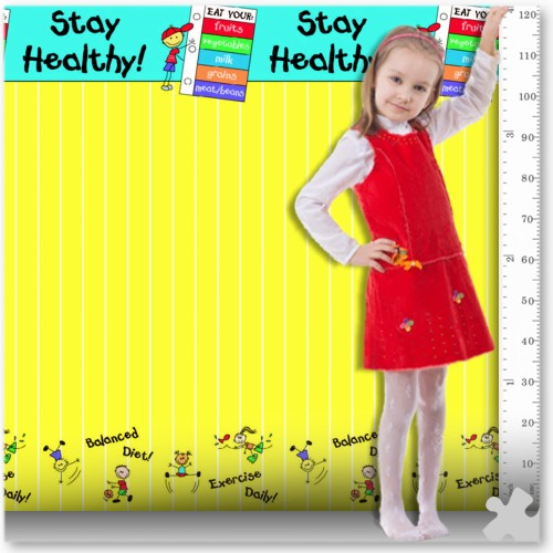 Healthy Habits Fadeless Designs Display Paper, 3.6m Roll