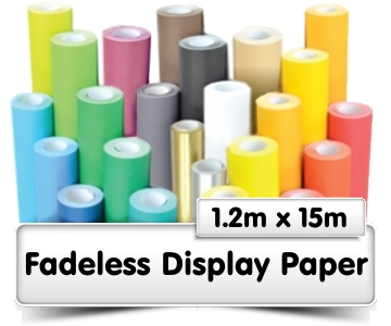 Fadeless Display Paper 1.2x15m