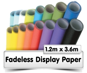 Fadeless Display Paper 1.2x3.6m