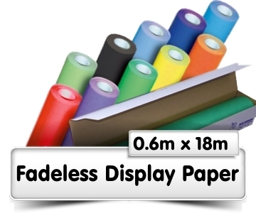 Fadeless Display Paper 0.6x18m