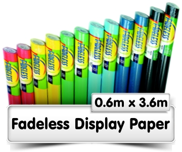 Fadeless Display Paper 0.6x3.6m