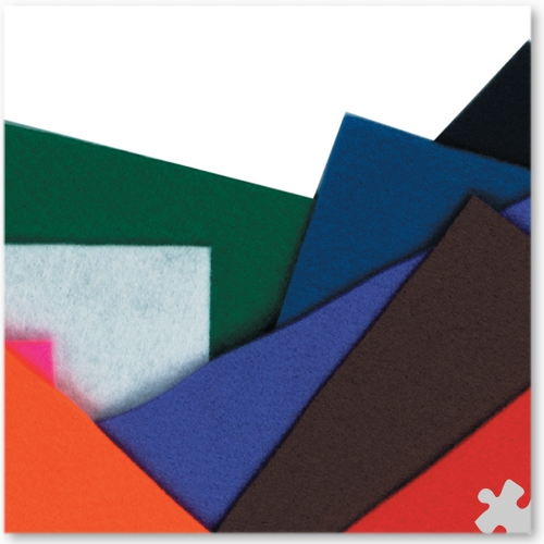 Felt Sheets 220x250mm, 10 Pack