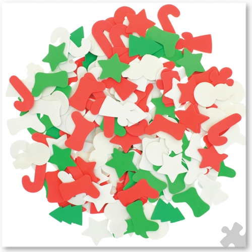 Christmas Foam Shapes