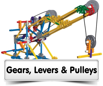 Gears, Levers & Pulleys