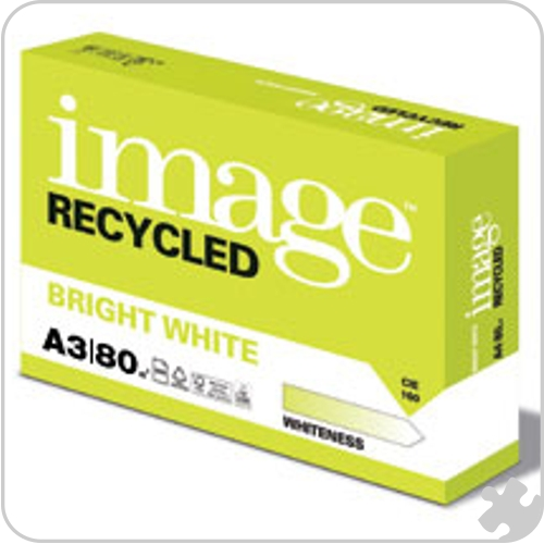 A3 Bright White Recycled Paper