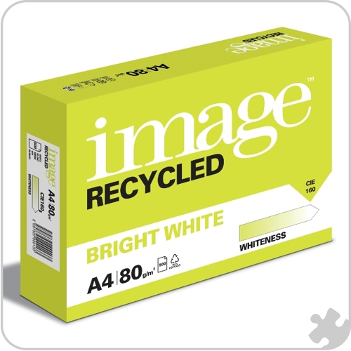 A4 Bright White Recycled Paper