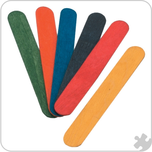 Craft Sticks - Coloured Large