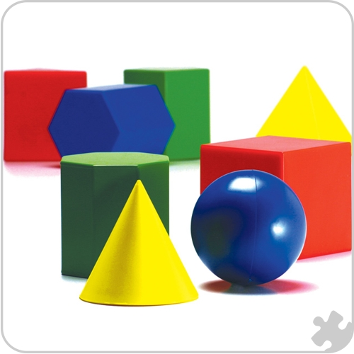 Large Shapes, 12 shapes per pack