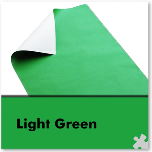 Light Green Poster Paper Sheets