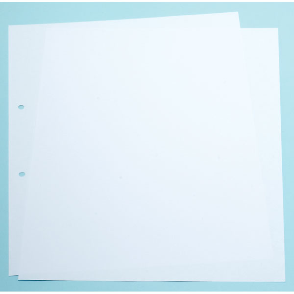 "9""x7"" Punched File Paper, 1 Ream"