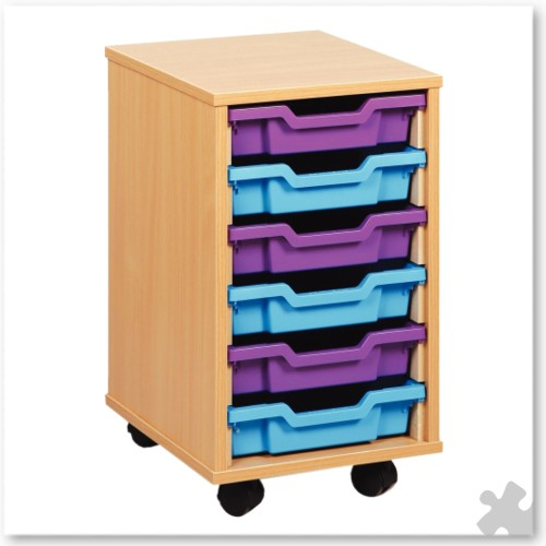 06 Tray Shallow Storage Tray Unit