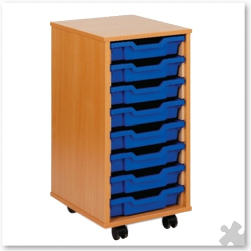 08 Tray Shallow Storage Tray Unit