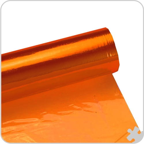 Orange Cellophane Roll