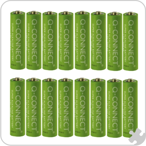 Q Connect AAA Batteries, Pack of 12