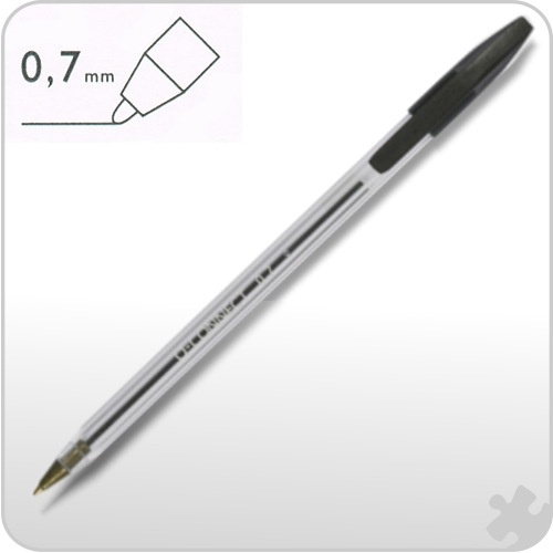 Black Medium Ball Point Pens