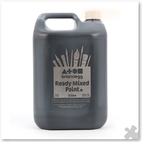 Black Ready Mix Paint, 5L