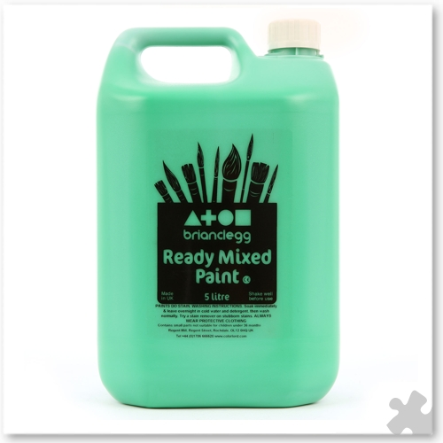 Brilliant Green Ready Mixed Paint , 5L