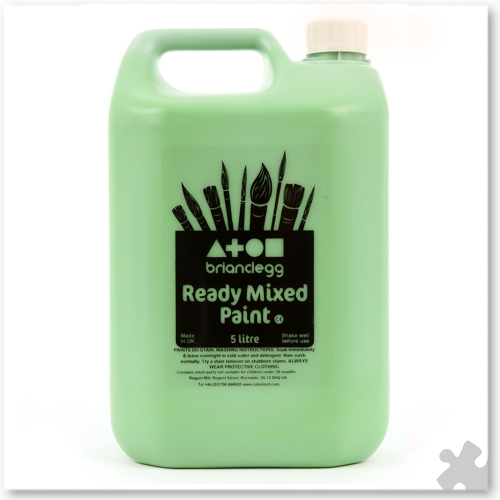 Leaf Green Ready Mixed Paint, 5L