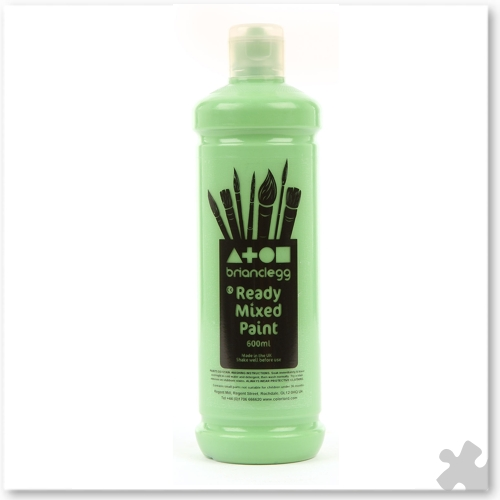 Leaf Green Ready Mixed Paint, 600ml