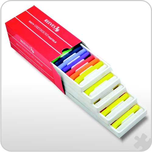 Reeves Soft Round Pastels, 60 Pack