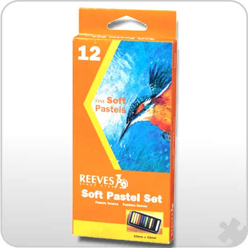 Reeves Soft Square Pastels, 12 Pack