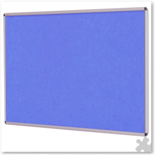 120 x 150cm Shield Design Aluminium Noticeboard