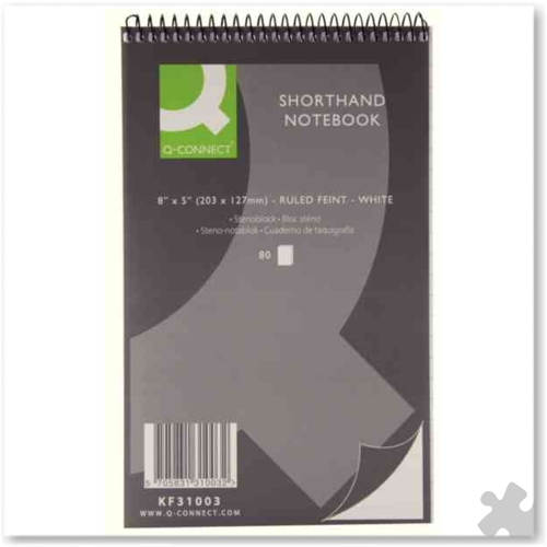Shorthand Notebooks, 80 Leaf