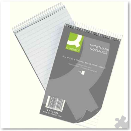 Shorthand Notebooks, Spiral Bound
