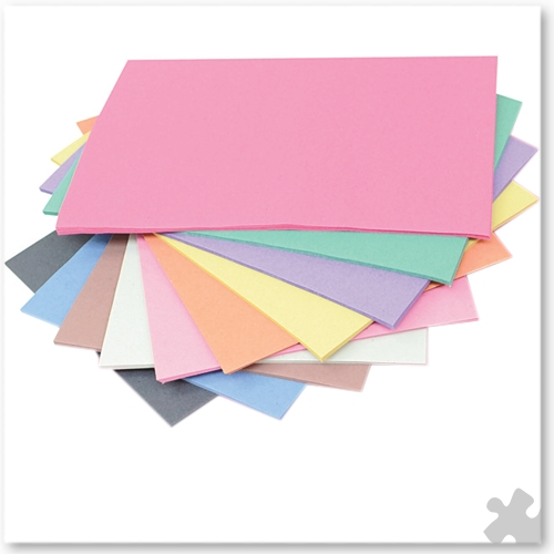 A4 Sugar Paper in Assorted Colours, 250 sheets