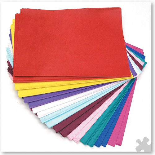 480 Sheet Tissue Paper Pack,10 colours