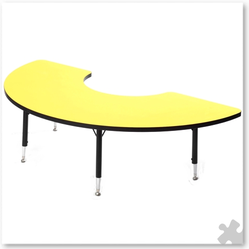Tuf-Top Yellow Arc Table