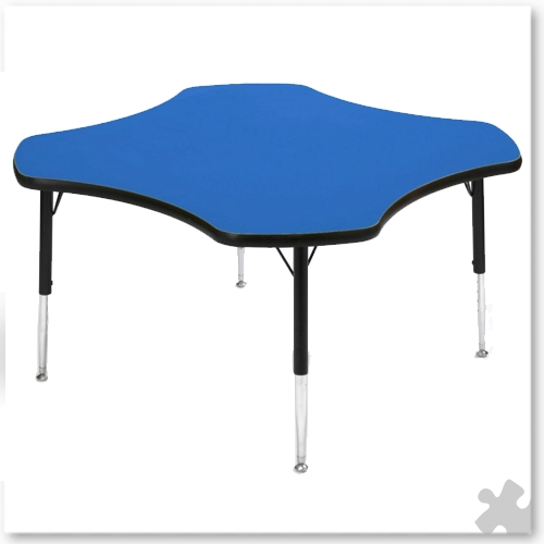 Tuf-Top Blue Clover Table