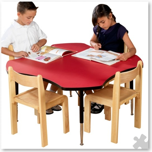 Tuf-Top Red Clover Table