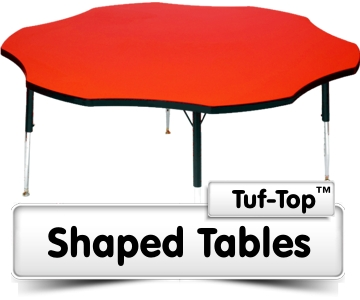 Tuf-Top Shaped Tables