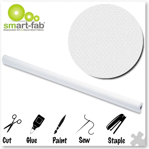 White Smart-Fab Display Fabric