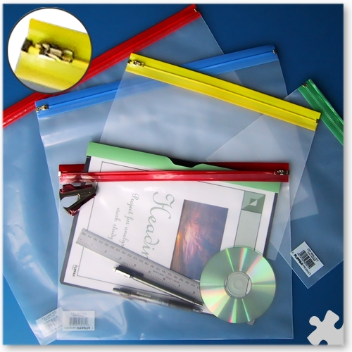 Zip Wallets A3 (485mm x 340mm) Assorted Colours